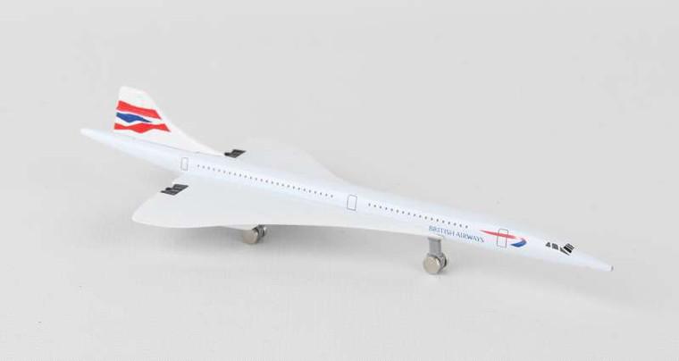 Premier Planes British Airways Concorde DiecastAirplane Model Toy