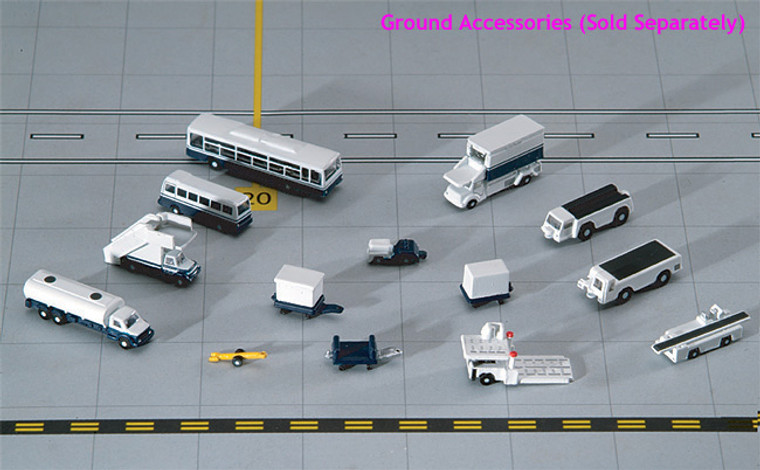 Gemini Jets Airport Accessories GSE 14 Piece Set 1/400 GJARPTSETA