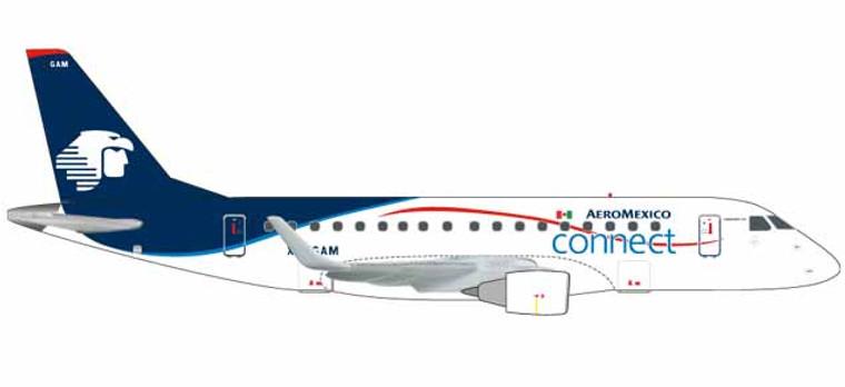 Herpa Aeroméxico Connect Embraer E170 - XA-GAM 1/400 562652
