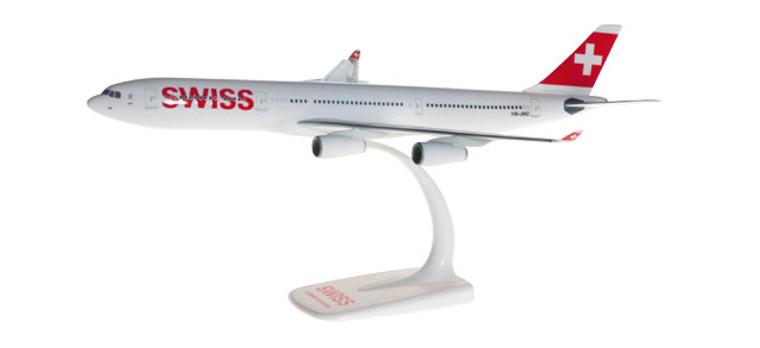 Herpa Swiss International Air Lines Airbus A340-300 1/200 610117-001