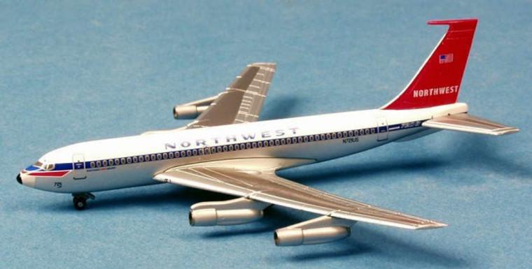 Dragon Wings Northwest Orient Boeing 720B (metal box) 1/400 DW55720