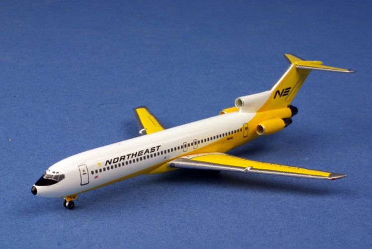 "Aeroclassics Northeast ""Yellowbirb"" Boeing 727-200 N1646 1/400 AC628"