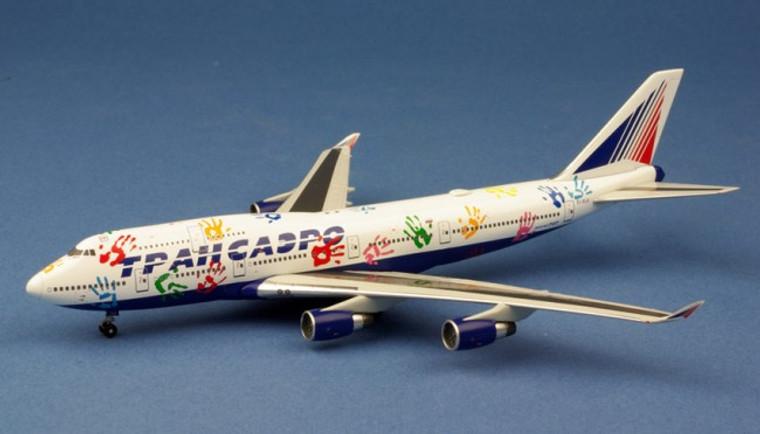 WittyWings Transaero Airlines Boeing 747-412 EI-XLK 1/400
