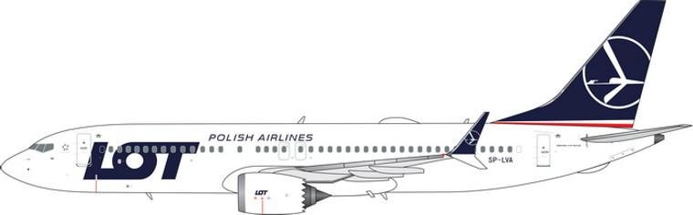Phoenix LOT Boeing 737-8Max SP-LVA 1/400