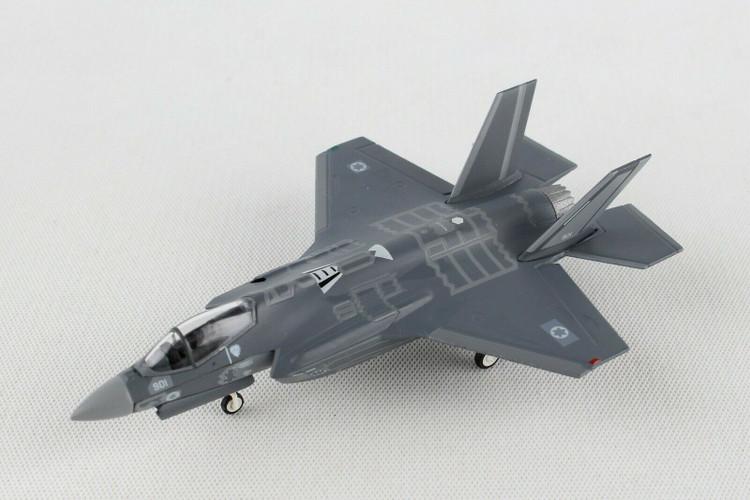 "Herpa Israeli Air Force Lockheed Martin F-35l ""Adir"" - 140 Sqd ""Golden Eagle"", Nevatim AB – 901 1/200 559300"
