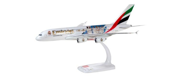 "Herpa Emirates Airbus A380 ""Real Madrid (2018 Season)"" 1/250 612142"