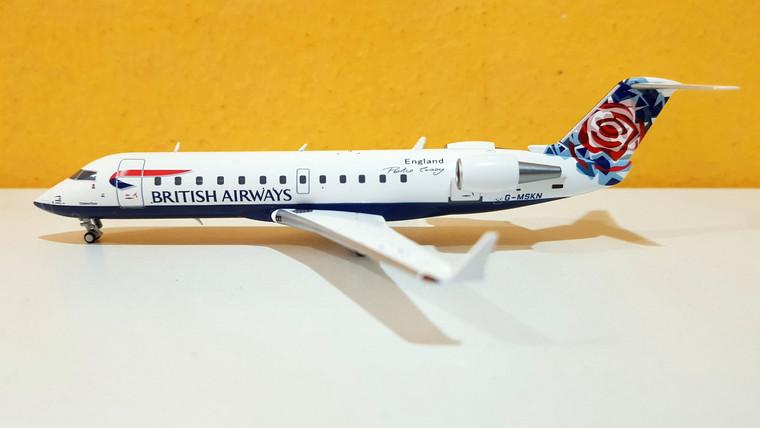 "NG Models British Airways CRJ-200LR  G-MSKN ""World tail - Chelsea Rose"" 1/200"