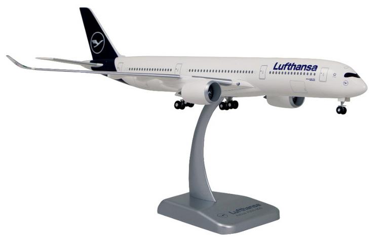 Limox Lufthansa Airbus A350-900 New Livery 'Dortmund' D-AIXI 1/200