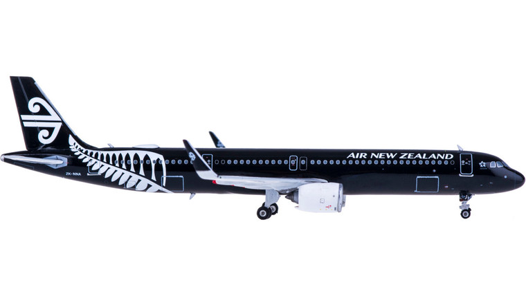 Phoenix Air New Zealand Airbus A321Neo All Black ZK-NNA 1/400