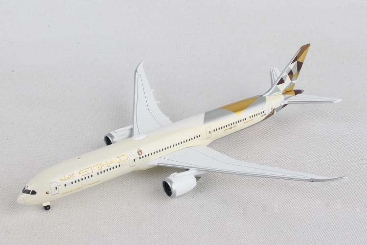 Herpa Etihad Airways Boeing 787-10 Dreamliner 1/500 533119