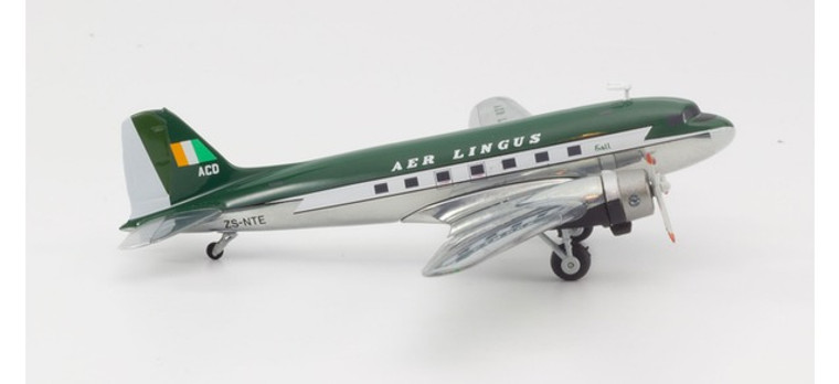 Herpa Aer Lingus Douglas C-47A Skytrain (DC-3) - Berlin Airlift 70th Anniversary Edition 1/200 559737
