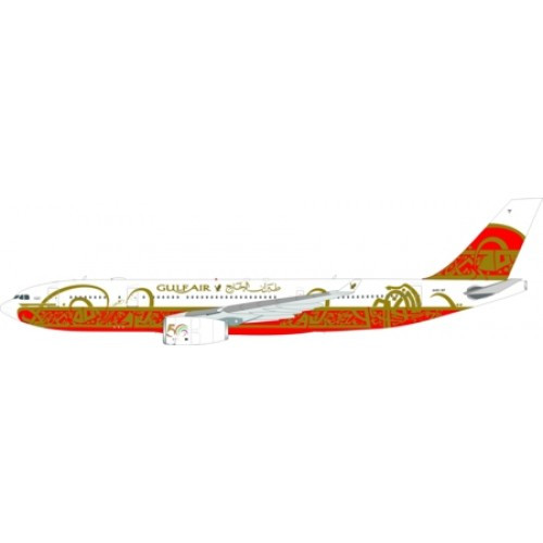 WB Gulf Air Airbus A330-200 A40-KF 50TH Anniversary 1/200