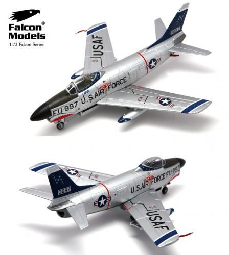 Falcon F-86D Sabre Dog 498th FIS, Yuma AFB,1956 Air Gunnery Meet  1/72 FM723011