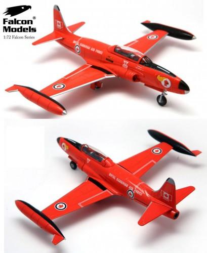 "Falcon T-33A T-Bird Silver Star ""Red Knight"", 1960s -RCAF 1/72 FM722023"