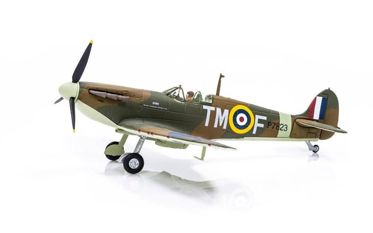 Corgi Supermarine Spitfire Mk.IIa P7823 / TM-F, 'Down Belfast Telegraph Spitfire Fund' - 100 Years of the RAF 1/72