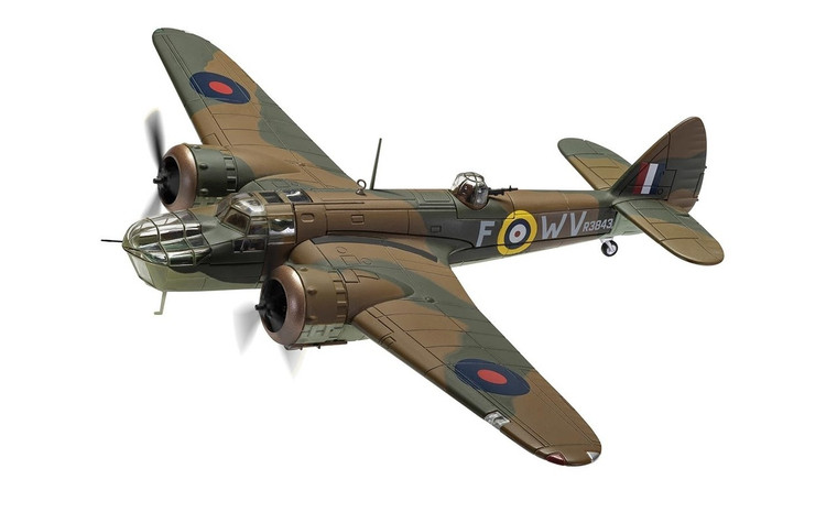 Corgi Bristol Blenheim Mk.IV R3843/WV-F, 'Operation Leg' August 1941 1/72