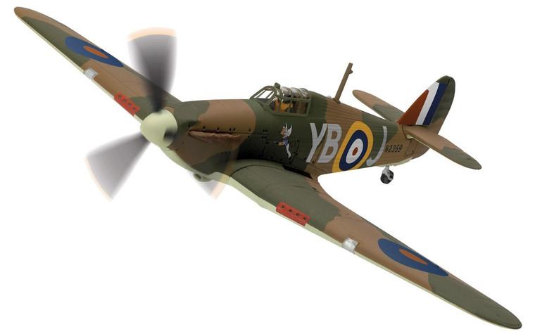 Corgi Hawker Hurricane Mk.1 N2359/YB-J, 'Winged Popeye', RAF No.17 Sqn 1/72