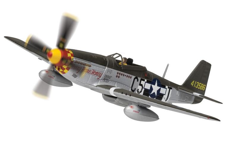 Corgi North American P-51D Mustang 44-13586/C5-T 'Hurry Home Honey', USAAF 1/72 AA27705