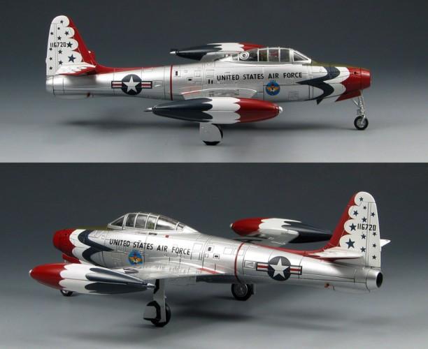 HobbyMaster F-84G Thunderjet Thunderbird 1953 show season 1/72 HMS6010