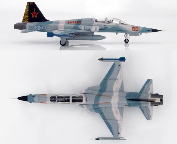 "HobbyMaster F-5F Tiger II VMFT-401 ""Snipers"", 25th Ann MCAS Yuma - Ltd700 1/72"