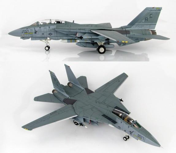"""HobbyMaster F-14A Tomcat VF-32 Sidra Gulf 1989 """"MIG Killer 1/72 HA5207"""