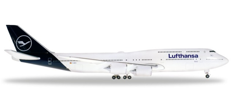 Herpa Lufthansa Boeing 747-8 Intercontinental - new colors 1/500 531283