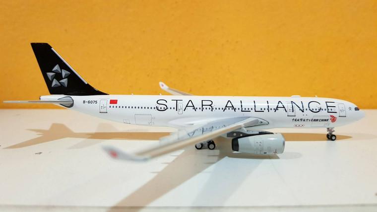 Panda Models Air China Airbus A330-200 'Star Alliance' B-6075 1/400