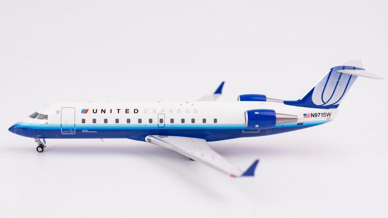 NG Models United Express CRJ-200LR 'Blue Tulip Colours' N971SW 1/200 NG52020