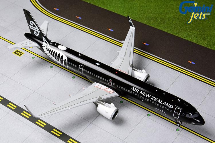 GeminiJets Air New Zealand Airbus A321Neo 'All Blacks' ZK-NNA 1/200 G2ANZ801