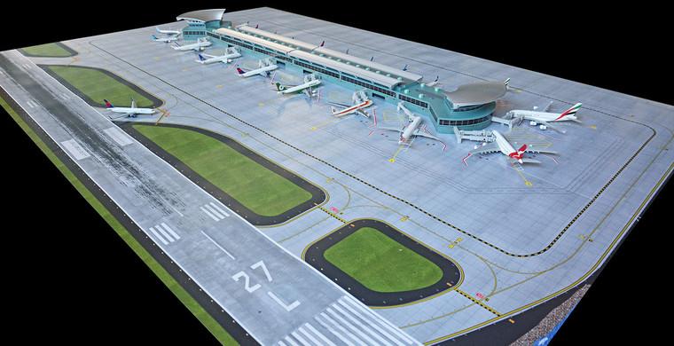 GeminiJets New Airport Terminal Mat 1/400 GJAPS008