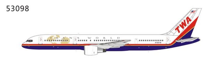NG Models TWA Boeing 757-200 N706TW 1/400 NG53098