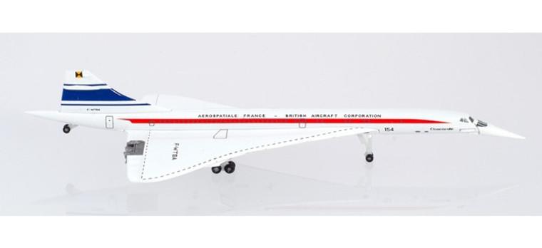 Herpa Aérospatiale France / BAC Concorde 50 Years F-WTSA 1/500 533607