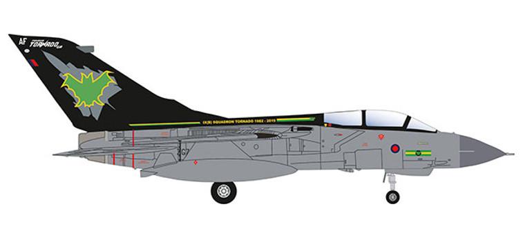 Herpa Panavia Tornado GR.4 Tornado Farewell 1/200 570510