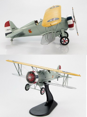 HobbyMaster F4B-3 Command Plane H.Q NAS Anacostia 1/48 HM7908