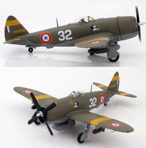 HobbyMaster P-47D Thunderbolt GCII/5 'Lafayette' 1944 1/48 HM8409
