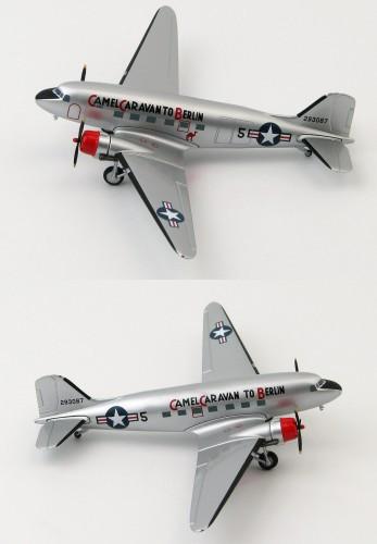 "HobbyMaster C-47A ""Camel Caravan to Berlin"" 86thTS 1948 1/200"