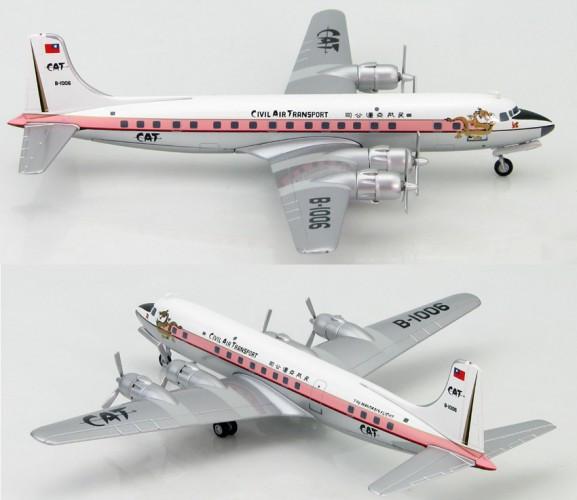 HobbyMaster Douglas DC-6B Civil Air Transport, 1958 1/200