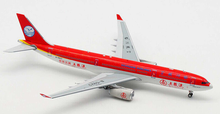 Aviation400 Sichuan Airlines Airbus A330-300 Wuliyangye Livery B-5923 1/400 AV4037