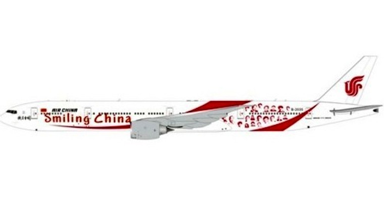 Aviation400 Air China Boeing 777-300ER Smiling China B-2035 1/400 AV4041