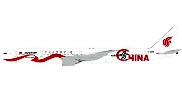 Aviation400 Air China Boeing 777-300 B-2006 Love China 1/400 AV4043