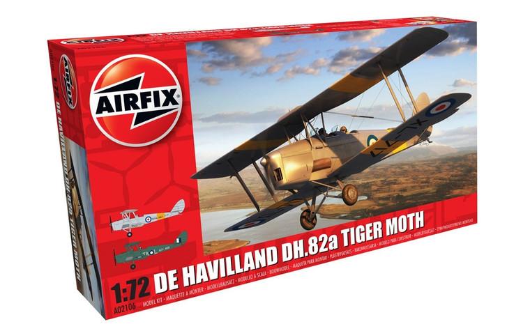 Airfix De Havilland DH.82a Tiger Moth 1/72 A02106