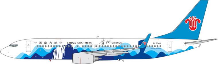 """Phoenix China Southern """"Guizhou"""" Boeing 737-800 B-6068 1/400"""
