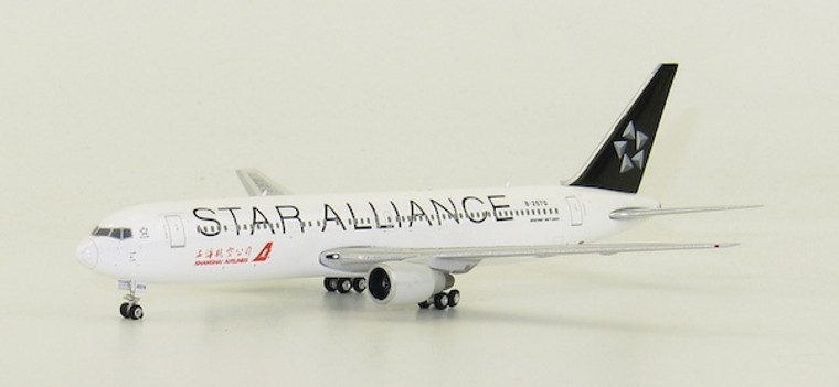 Phoenix Shanghai Boeing 767-36D B-2570 Star alliance 1/400
