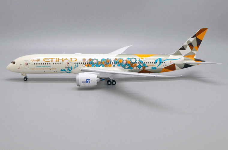 JC Wings Etihad Airways Boeing 787-9 Dreamliner (Adnoc Livery) A6-BLI 1/200