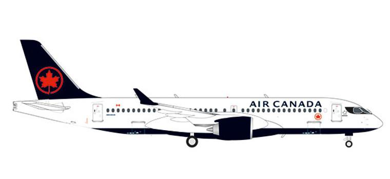 Herpa Air Canada Airbus A220-300 1/200 570619