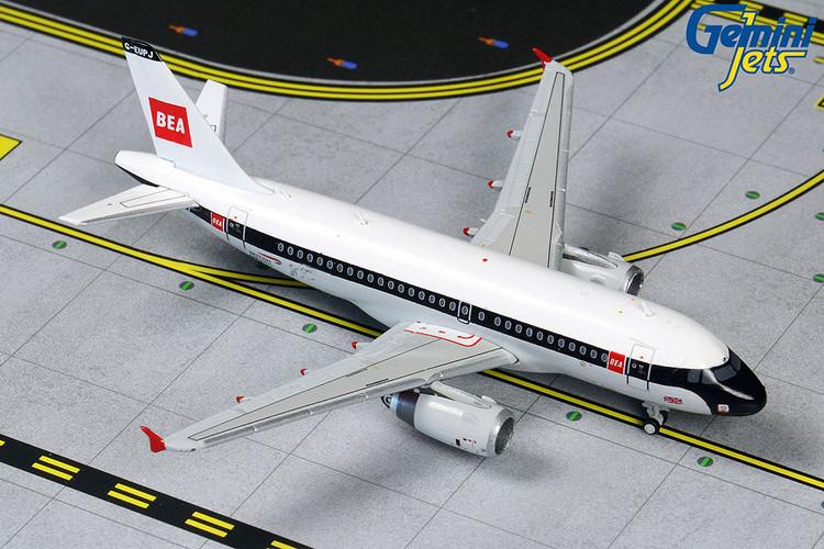 GeminiJets British Airways Airbus A319 G-EUPJ BEA Retro Livery 1/400 GJBAW1859