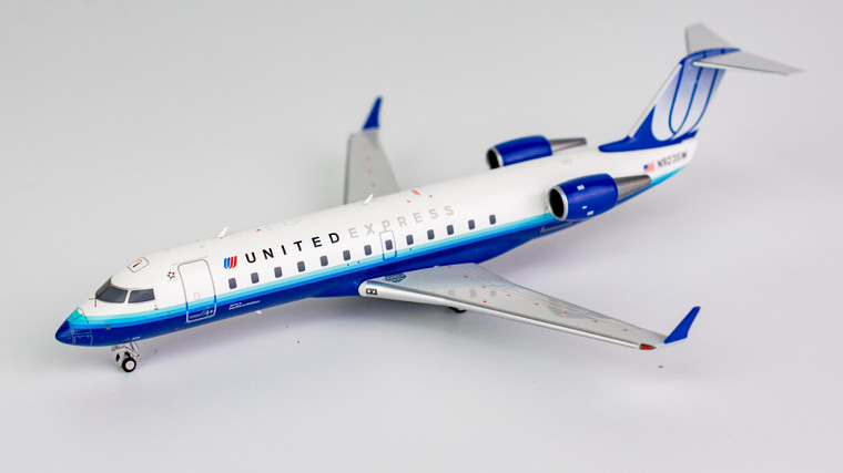 NG Models United Express CRJ-200LR N923SW Blue tulup livery 1/200 NG52021