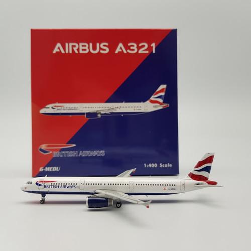 Phoenix British Airways Airbus A321 G-MEDU 1/400 PH04288