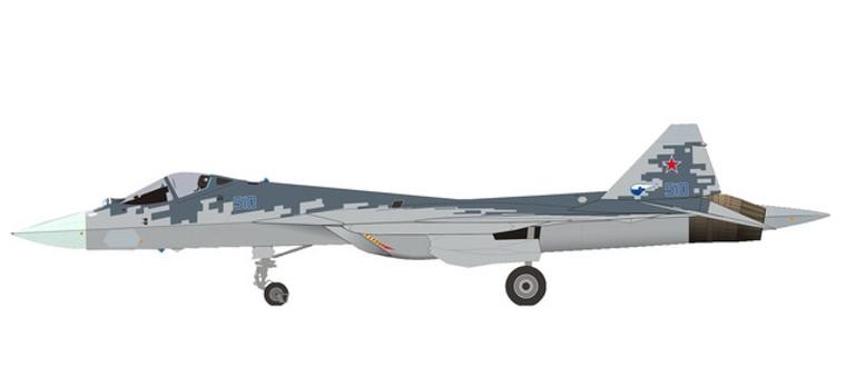Herpa Sukhoi T-50 (SU-57) prototype - Pixel color scheme 1/200 570732