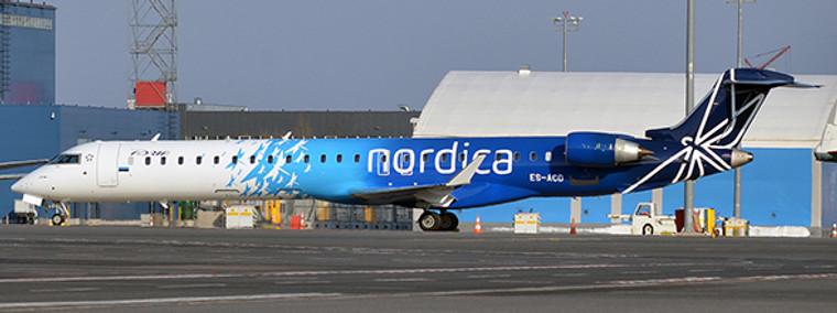 JC Wings Adria Airways Bombardier CRJ-900 (Nordica Livery) ES-ACD 1/200
